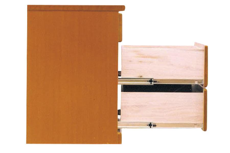 ローチェスト  ワークス75−3 ダーク:画像はミドル色です。