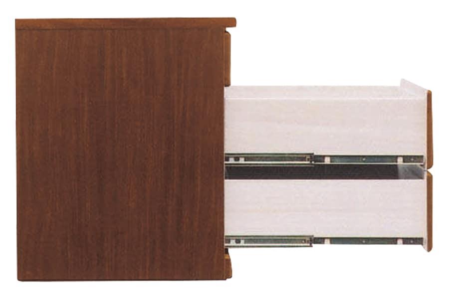 クローゼットチェスト  ワークス60−4 ミドル:画像はダーク色です。