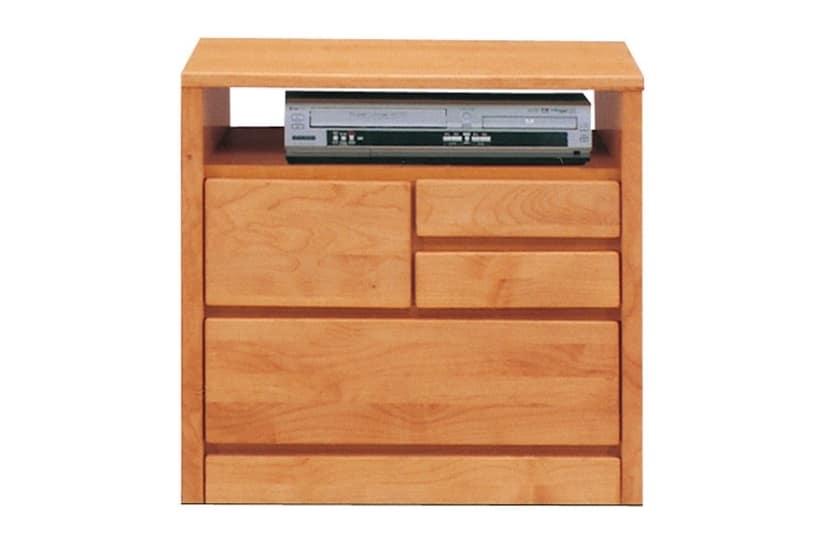 TVボード ティアラ60-2(NA):家電・小物類はイメージです。