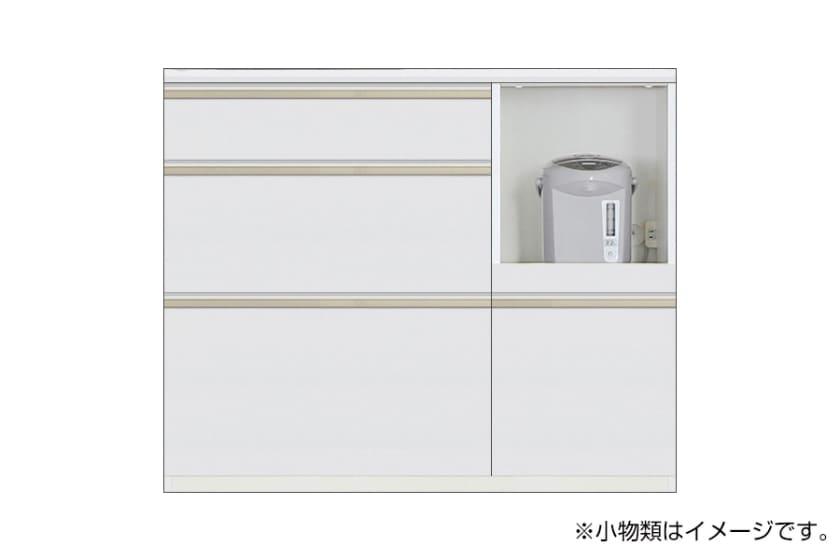 カウンター サイゼスト 110 ※奥行49cm(ホワイト)