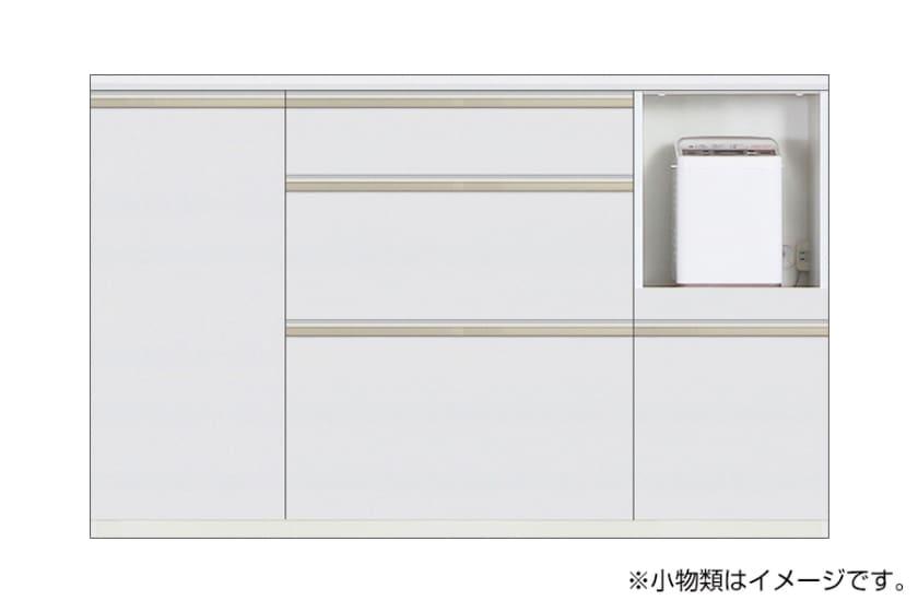 カウンター サイゼスト 145 ※奥行49cm(ホワイト)