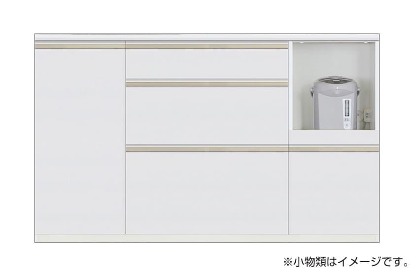 カウンター サイゼスト 150 ※奥行49cm(ホワイト)