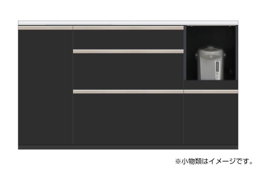 カウンター サイゼスト 155 ※奥行49cm(ブラック)