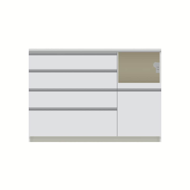 パモウナ カウンター  VZR−S1200R下台 W