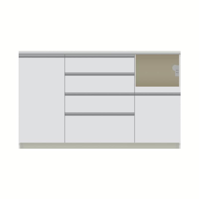 パモウナ カウンター  VZR−1400R下台 W