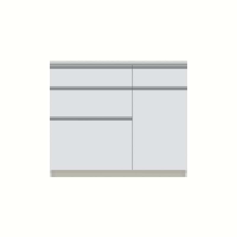 パモウナ カウンター  VZA−1000R下台 W
