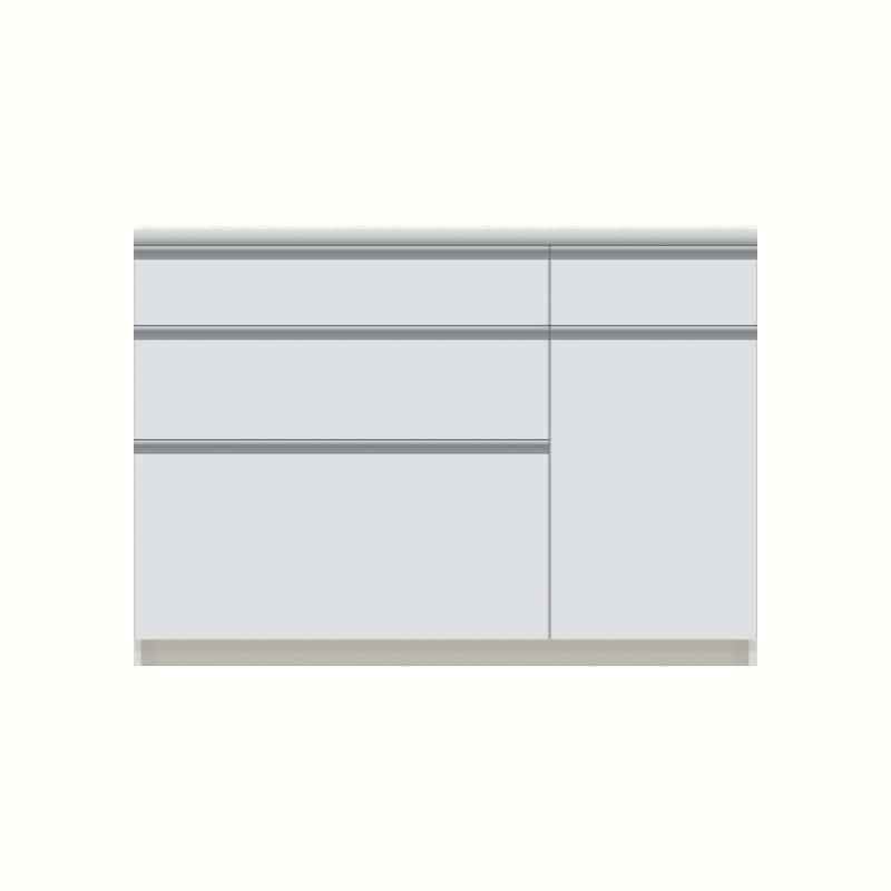 パモウナ カウンター  VZA−1200R下台 W