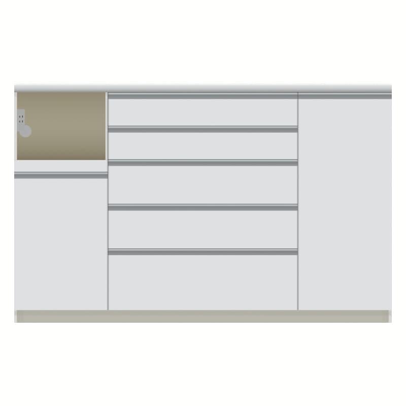 パモウナ カウンター  VQL−S1600R下台 W