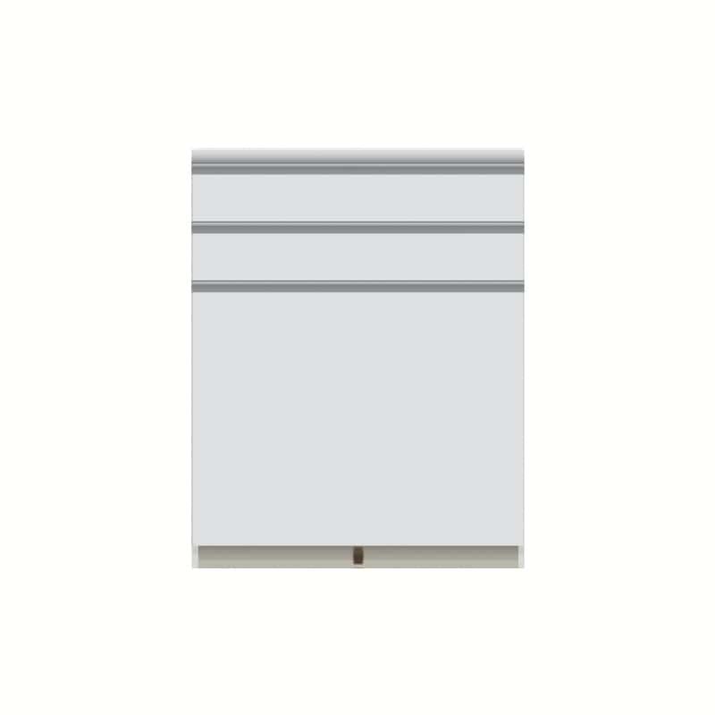 パモウナ カウンター  VQ−S800K下台 W