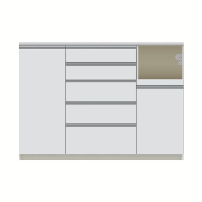 パモウナ カウンター  VQR−1400R下台 W