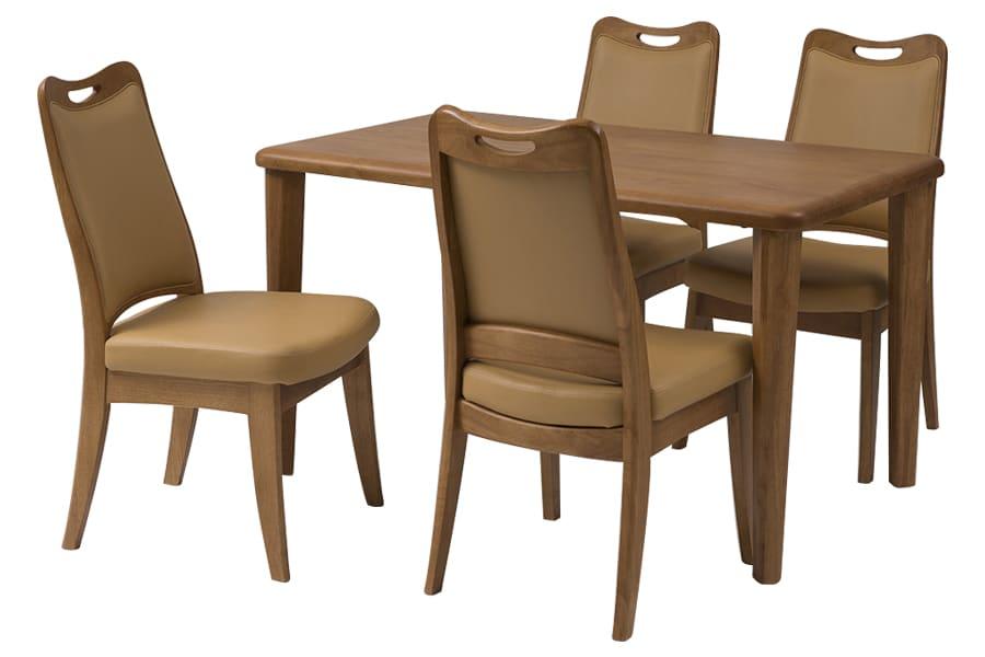 ダイニングテーブル CCM PLUS  125−75Z 4本脚(LBN)