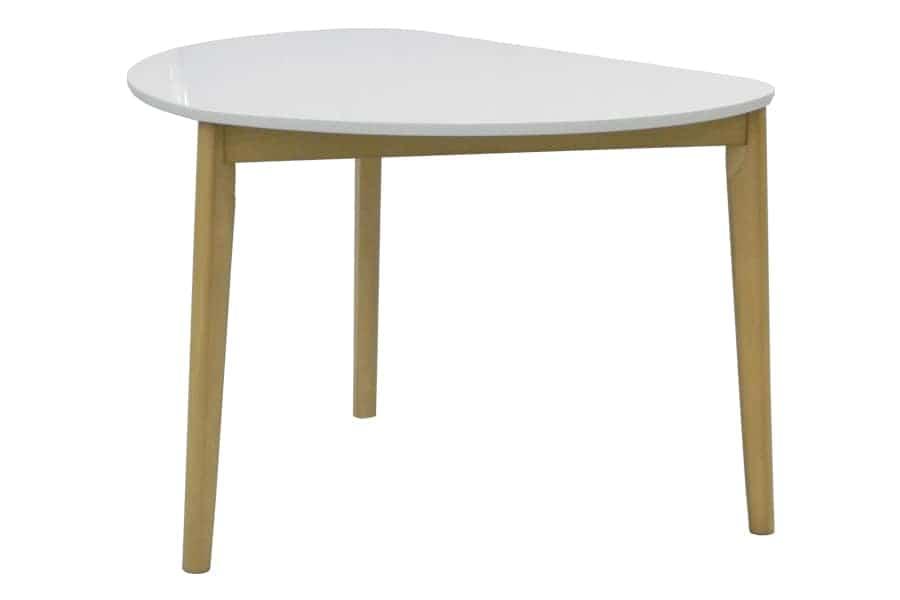 ダイニングテーブル  KID'S PLAN トリアン変形(WH・LBN)