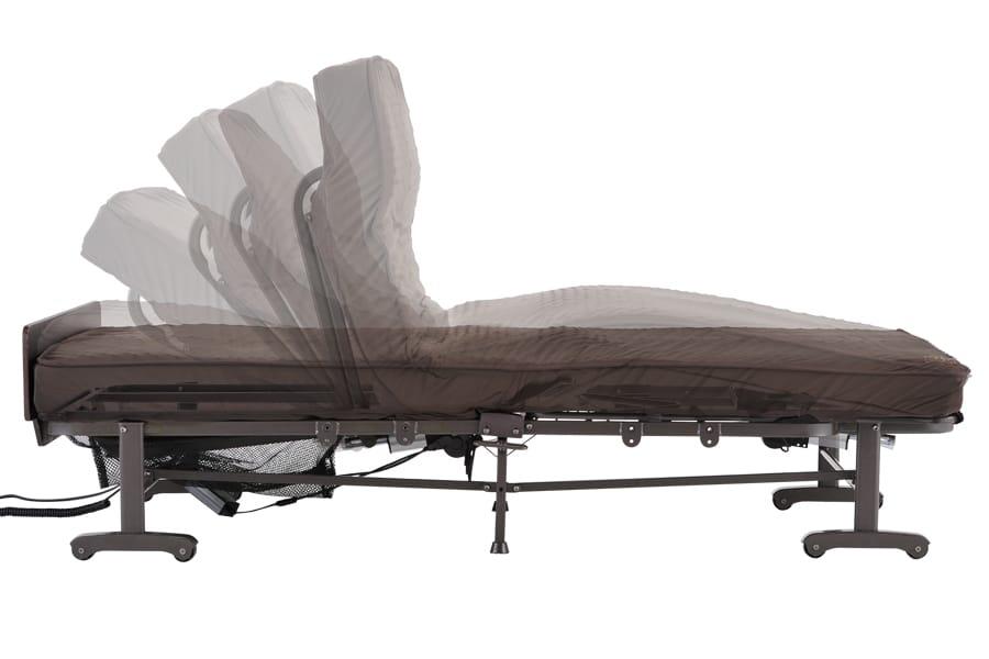 折りたたみベッド AX−BE634N 電動1モーター ブラウン