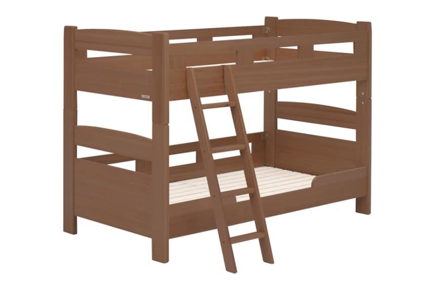2段ベッド フリート(ブラウン)