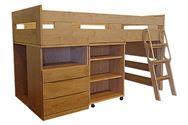 システムベッド SD207(収納ベッド)