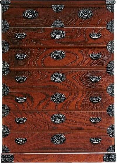 吉野民芸 ハイチェスト:日本の伝統的な家具を追求し、現代の住空間にあわせた「吉野民芸家具」