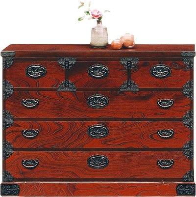 吉野民芸 整理120cm:日本の伝統的な家具を追求し、現代の住空間にあわせた「吉野民芸家具」