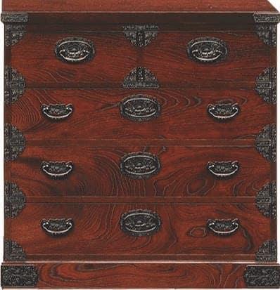 吉野民芸 整理90cm:日本の伝統的な家具を追求し、現代の住空間にあわせた「吉野民芸家具」