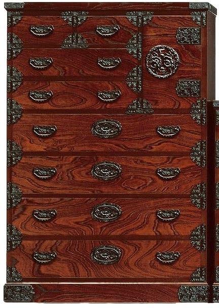 吉野民芸 ハイ片開き(かくし付):日本の伝統的な家具を追求し、現代の住空間にあわせた「吉野民芸家具」