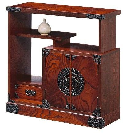 吉野民芸 30茶棚箪笥:《伝統的な家具を追求し、現代の住空間にあわせた「吉野民芸家具」シリーズ》