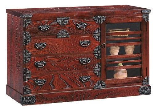 吉野民芸 1204段 片開き:《伝統的な家具を追求し、現代の住空間にあわせた「吉野民芸家具」シリーズ》