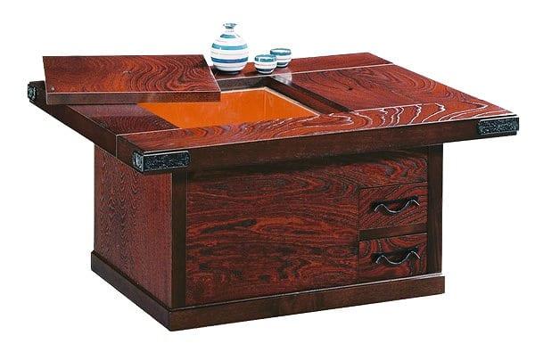 吉野民芸 小火鉢90cm:《伝統的な家具を追求し、現代の住空間にあわせた「吉野民芸家具」シリーズ》