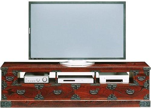 吉野民芸 TVボード180:《伝統的な家具を追求し、現代の住空間にあわせた「吉野民芸家具」シリーズ》