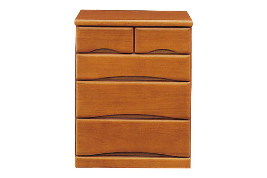 クローゼットチェスト  ワークス60−4 ミドル:□シンプルデザインの木製チェストシリーズ□