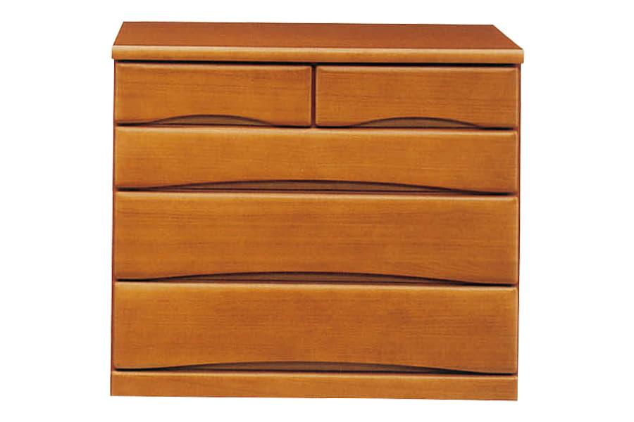 クローゼットチェスト  ワークス90−4 ミドル:□シンプルデザインの木製チェストシリーズ□