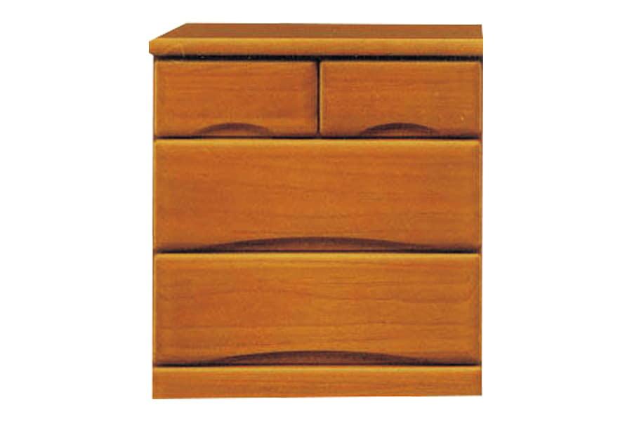 ローチェスト  ワークス60−3 ミドル:□シンプルデザインの木製チェストシリーズ□