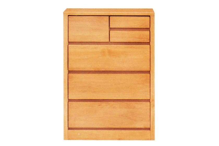 ローチェスト ティアラ60-4(NA):豊富なバリエーション 書棚に上置を設置したイメージです。