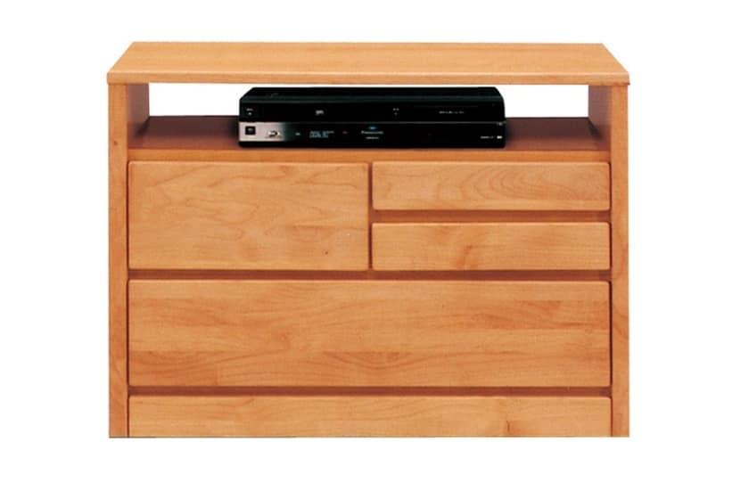 TVボード ティアラ80-2(NA):豊富なバリエーション 家電・小物類はイメージです。