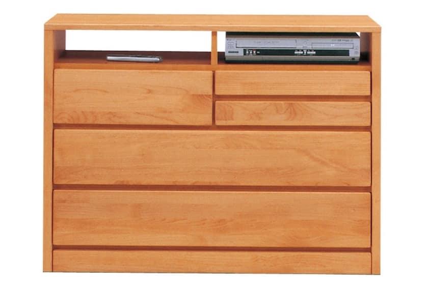 TVボード ティアラ105-3(NA):豊富なバリエーション 家電・小物類はイメージです。