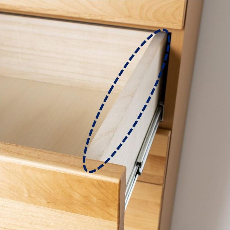 ハイチェスト エブリー4 100(NA):耐久性に優れる箱組み構造