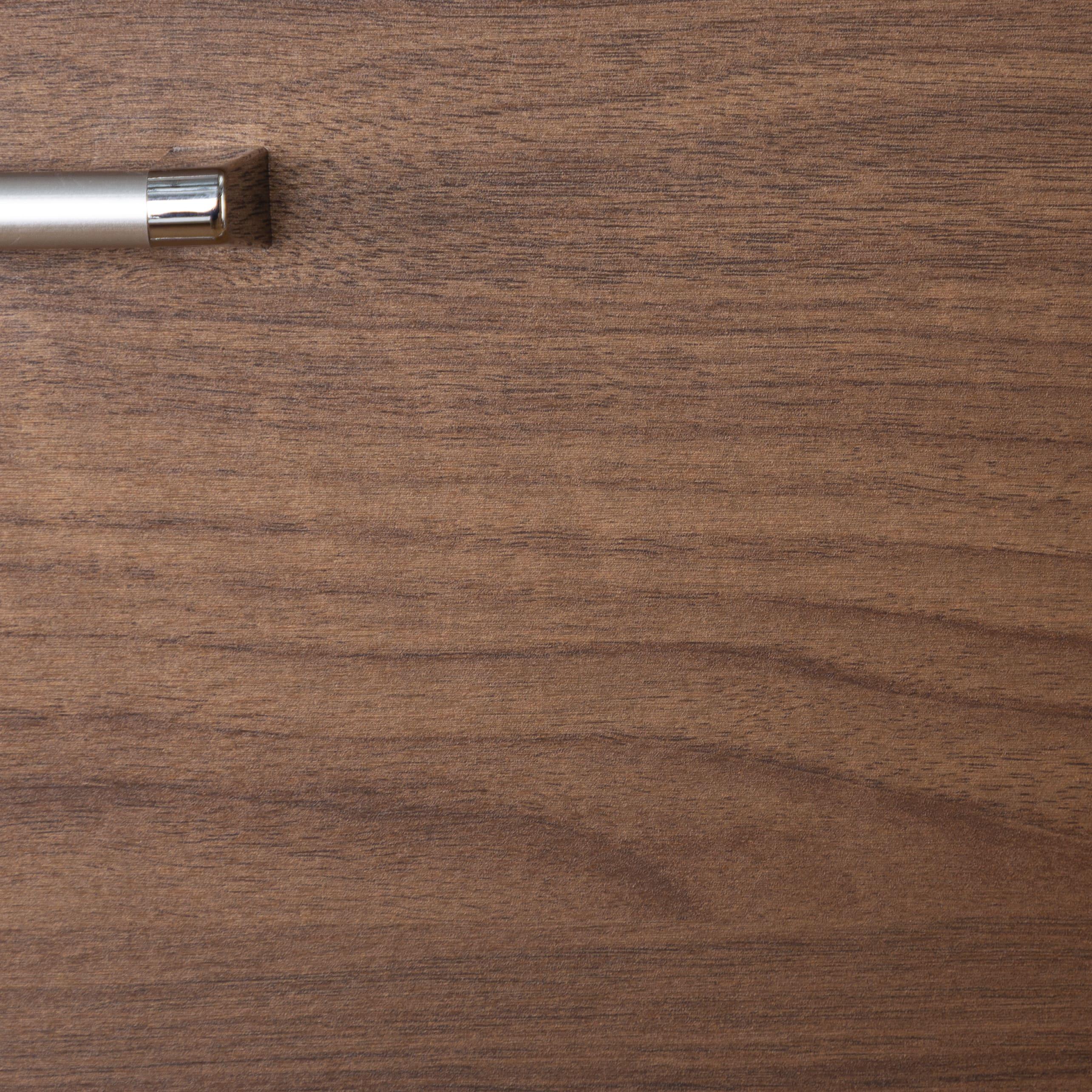 タワーチェスト ナット 80 ホワイト/取手シルバー
