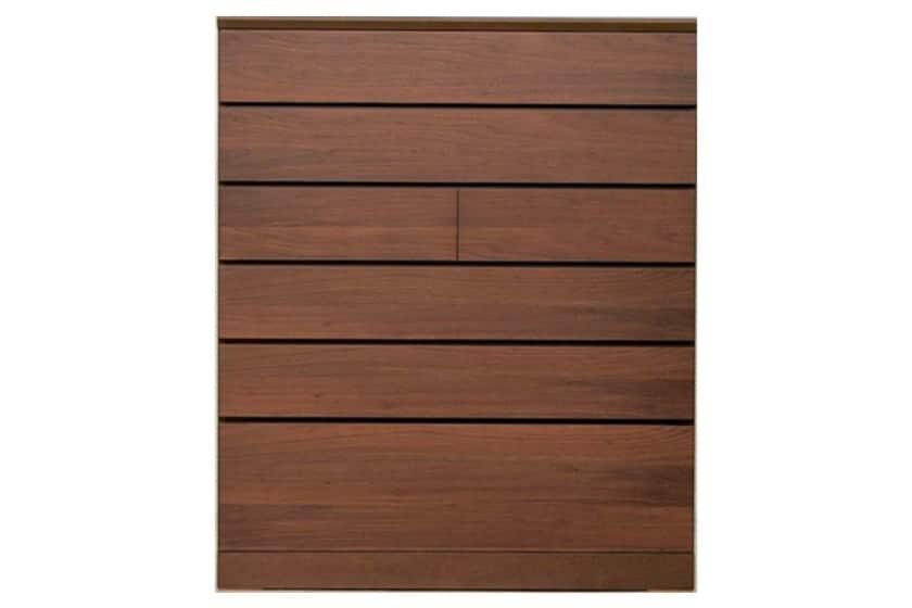 クリオス ハイチェスト 104−6 (ナット630):職人によって丁寧に作られた家具は、長く愛用していただけます