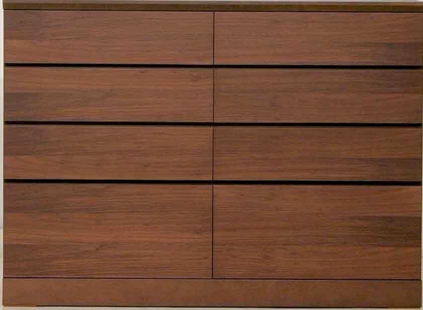ローチェスト クリオス 124−4:職人によって丁寧に作られた家具は、長く愛用していただけます