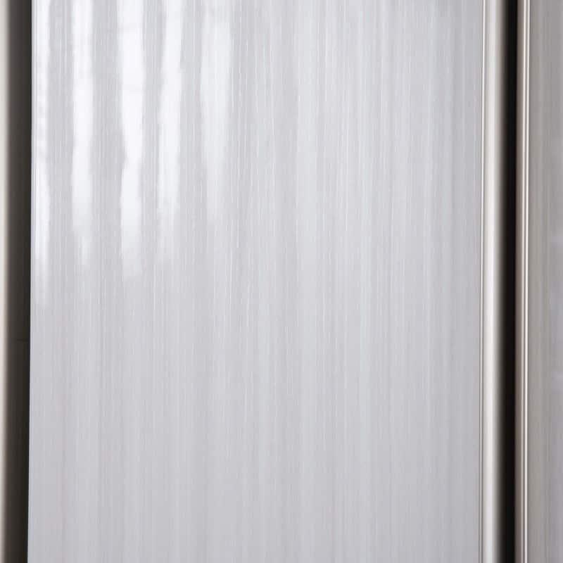ケース 洋服タンス ワード 折戸 80 (R):ハイグロスシート