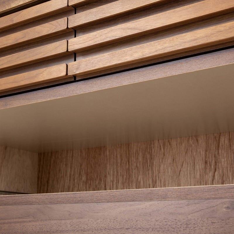 ミドルチェスト キューブ 90−5 WN:地板(スラセ)仕様