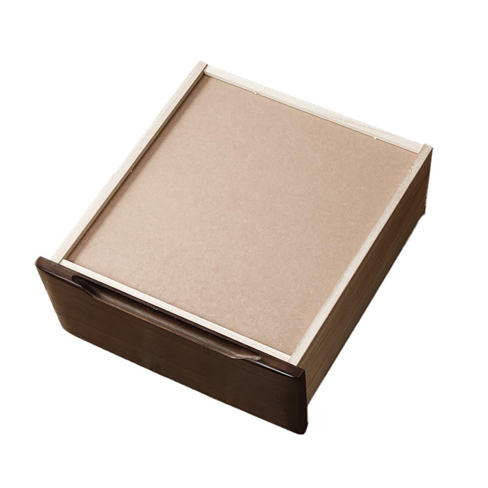 ハイチェスト マースト80-6 ブラウン:カラーは全3色からお選びいただけます。