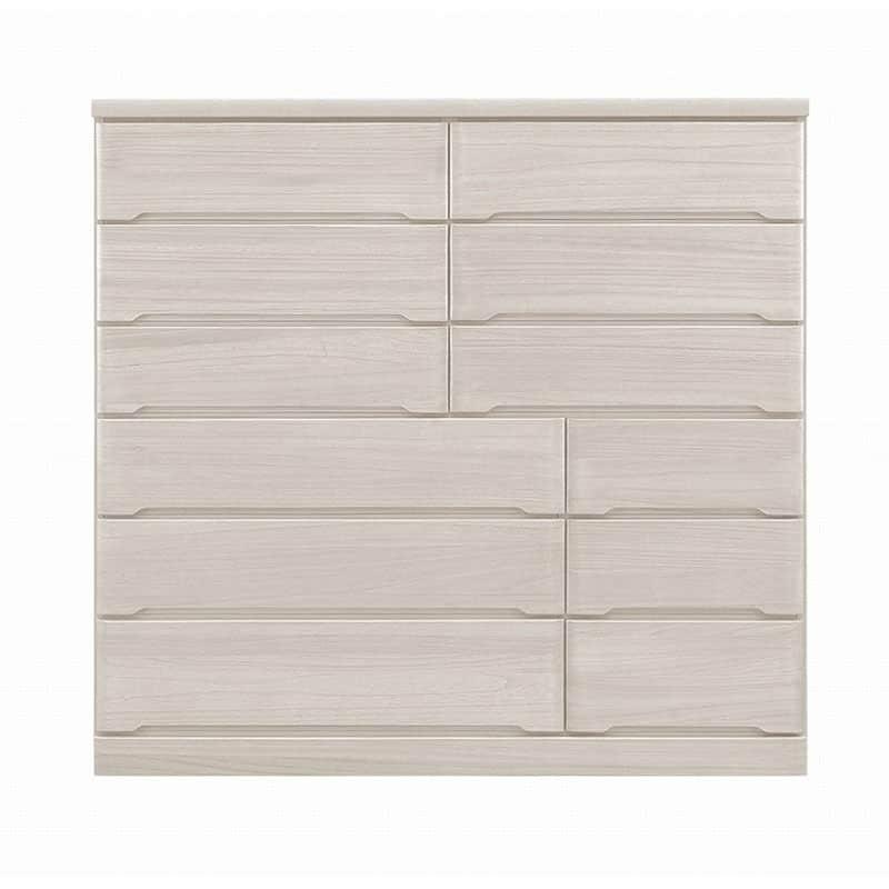 ワイドハイチェスト【重ね】 マースト150-6 ホワイト:豊富なタイプ・サイズを3色でご用意
