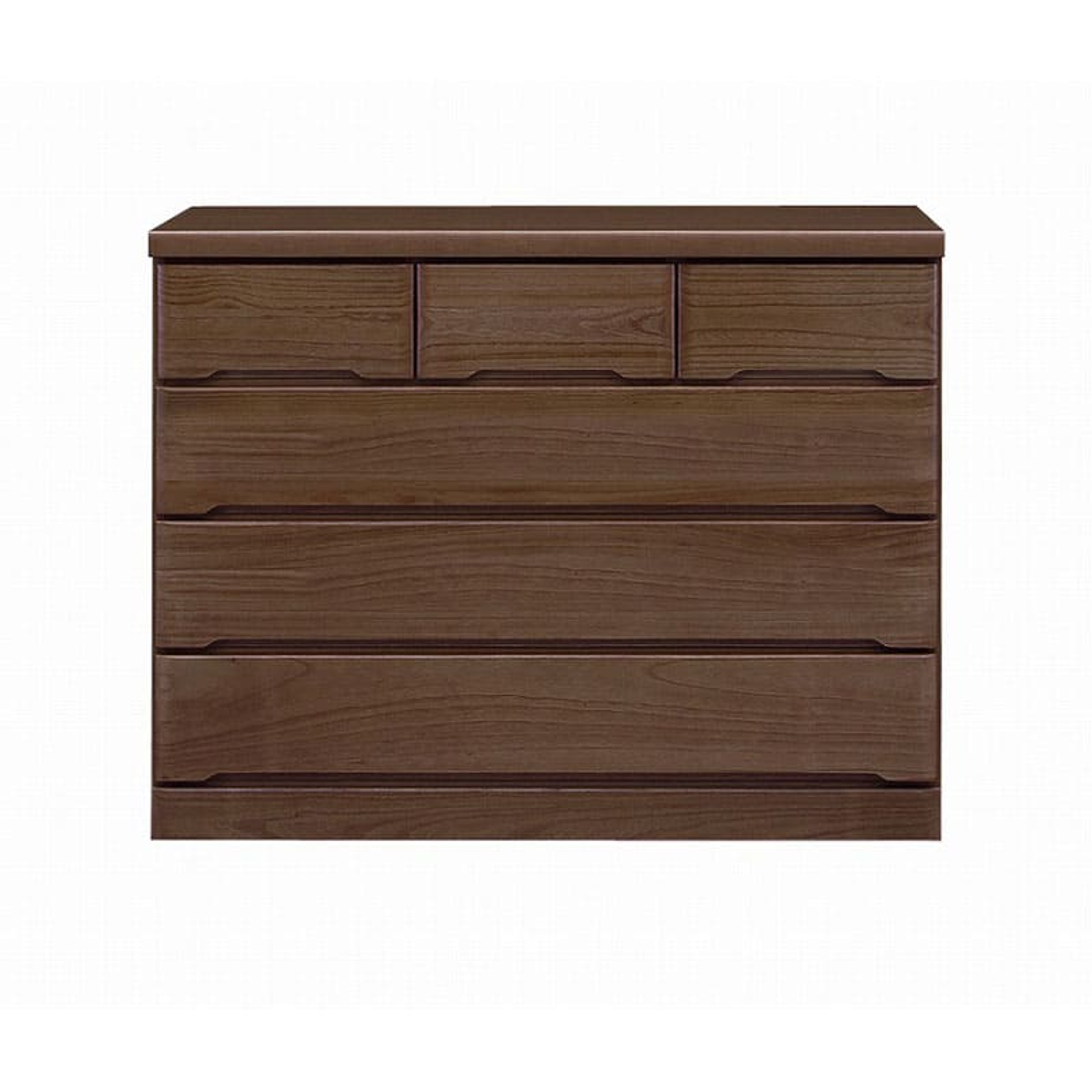 ローチェスト マースト120-4 ブラウン:豊富なタイプ・サイズを3色でご用意