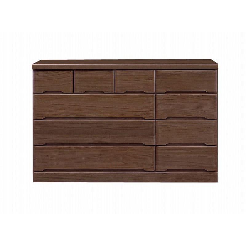ワイドローチェスト マースト150-4 ブラウン:豊富なタイプ・サイズを3色でご用意