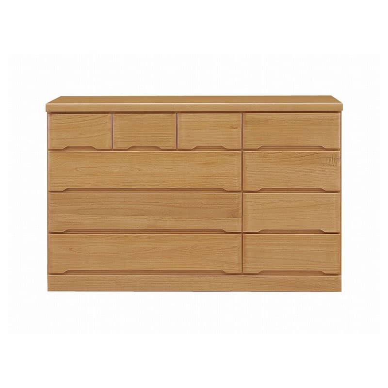 ワイドローチェスト マースト150-4 ナチュラル:豊富なタイプ・サイズを3色でご用意