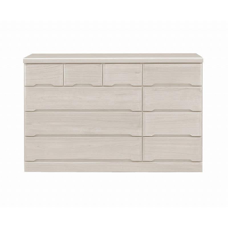 ワイドローチェスト マースト150-4 ホワイト:豊富なタイプ・サイズを3色でご用意