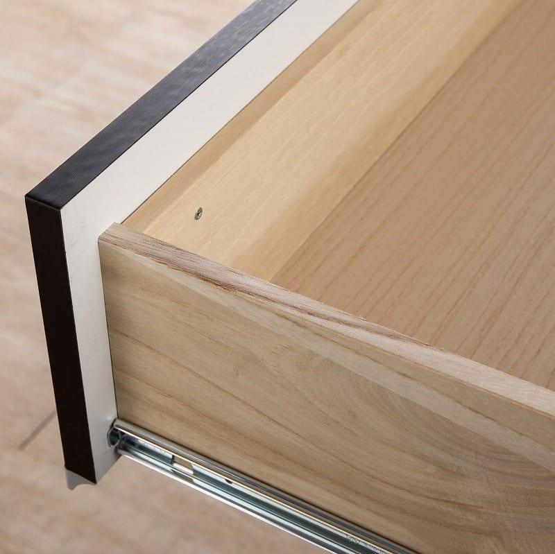 ローチェスト リベルテ 120−4L WH:こだわりの箱組み構造