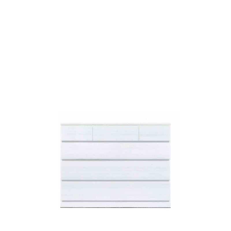 ローチェスト ウォール120LC WH木目:◆材質:ハイグロスシート/MDF