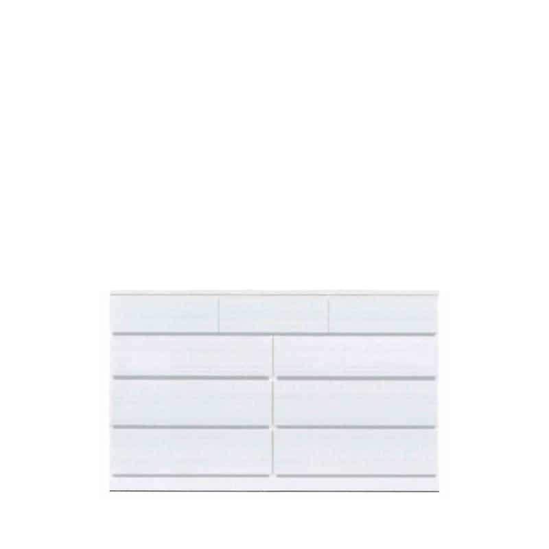 ローチェスト ウォール150LC WH木目:◆材質:ハイグロスシート/MDF