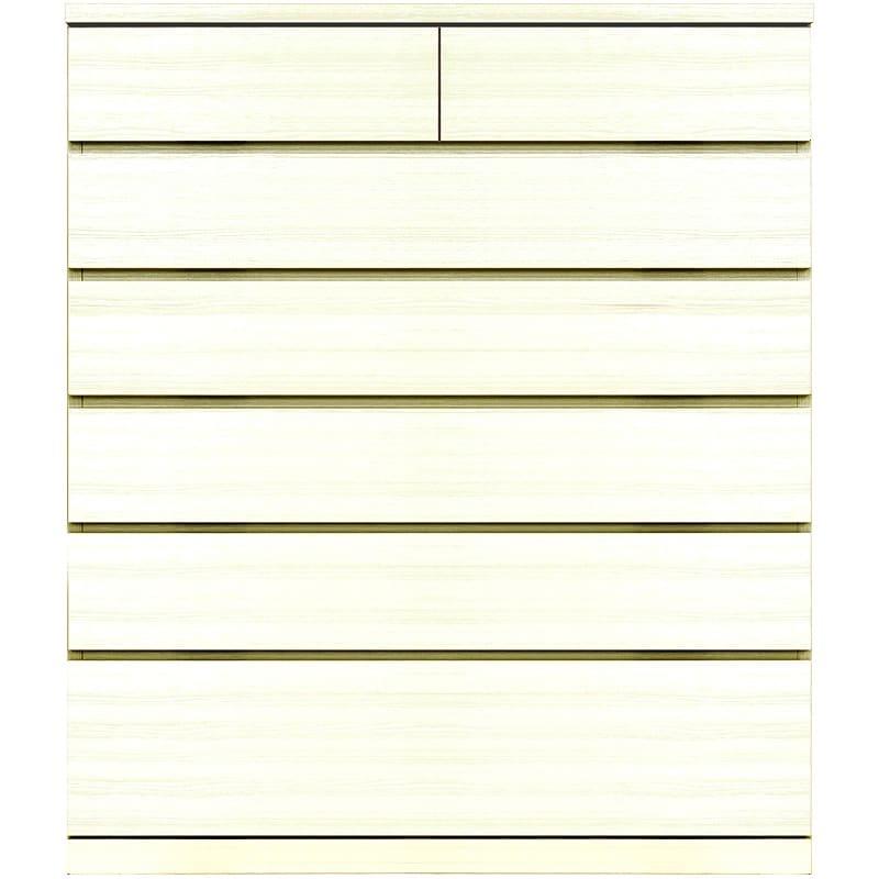 ハイチェスト シルフ 102−6段 WH:シンプルかつ洗練されたデザイン
