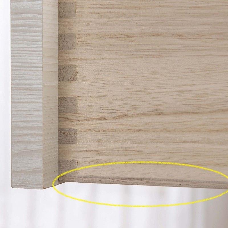 ローチェスト シルフ 118−4段 NA:驚異の底板5�o
